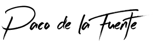 fuente Letras negras y fondo loguito